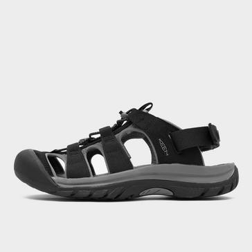 BLACK Keen Men's Rapide H2 Outdoor Sandals