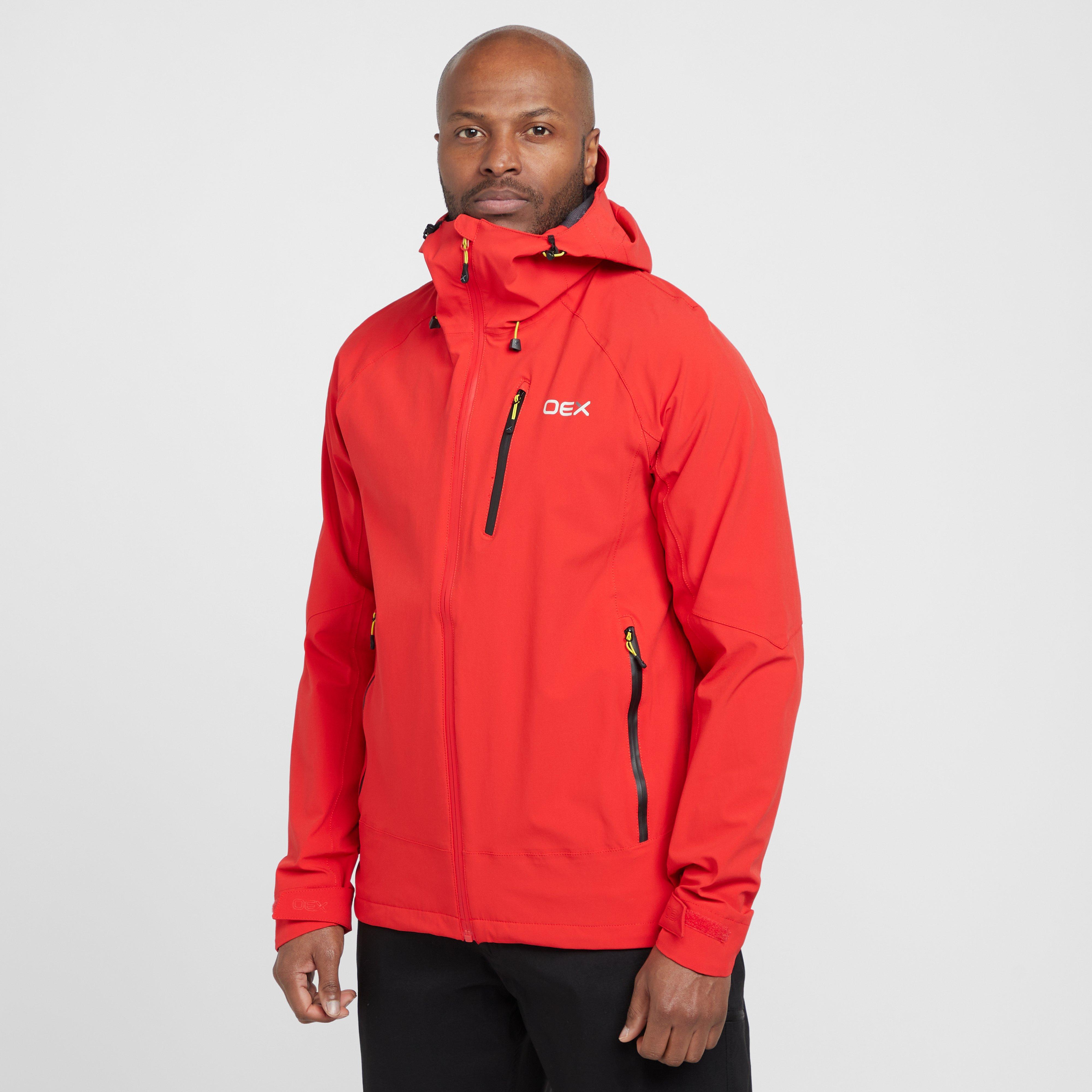 Oex Oex Mens Aonach Waterproof Jacket, Orange