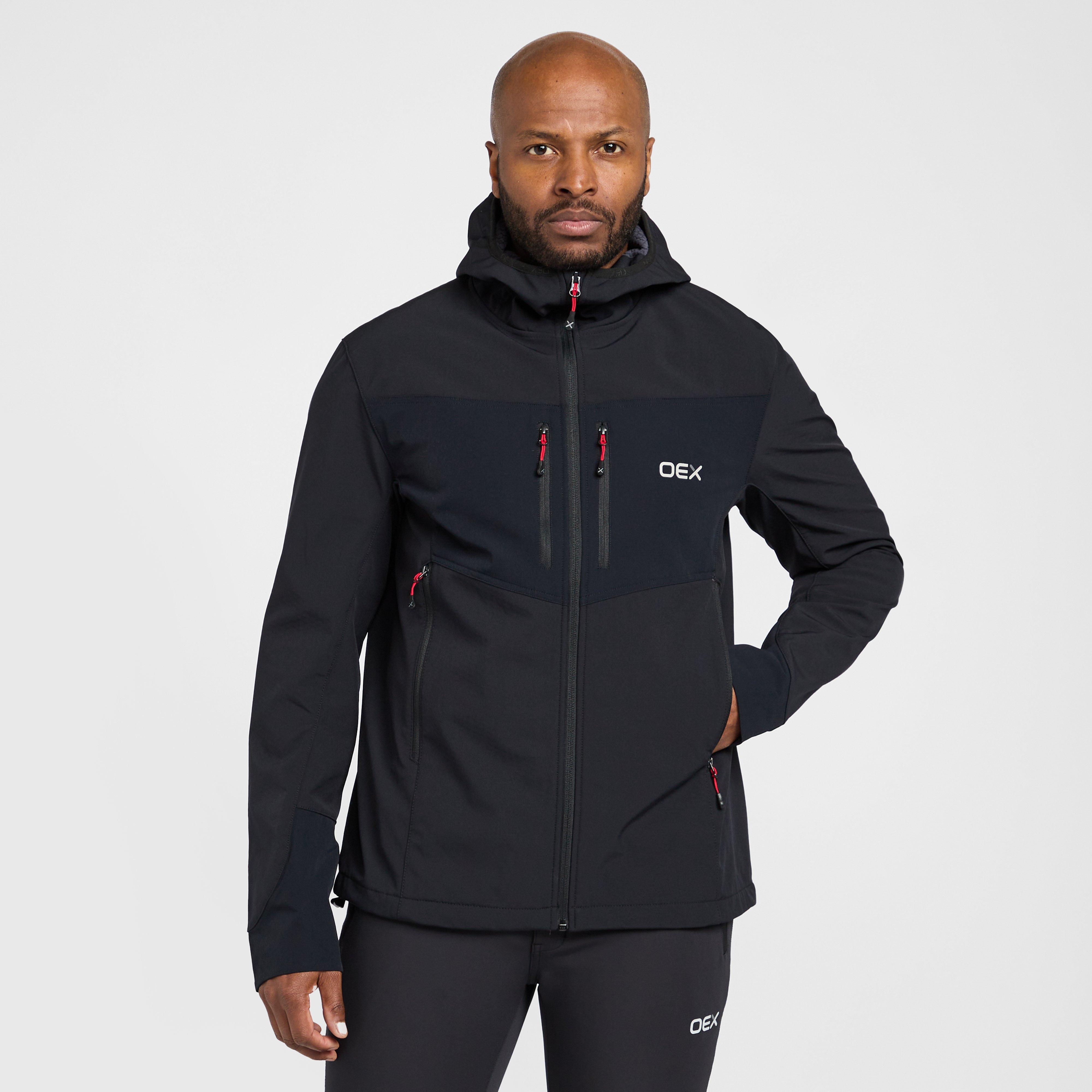 New Oex Men's Stratosphere Softshell Jacket