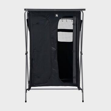 Black HI-GEAR Elite 6 Wardrobe