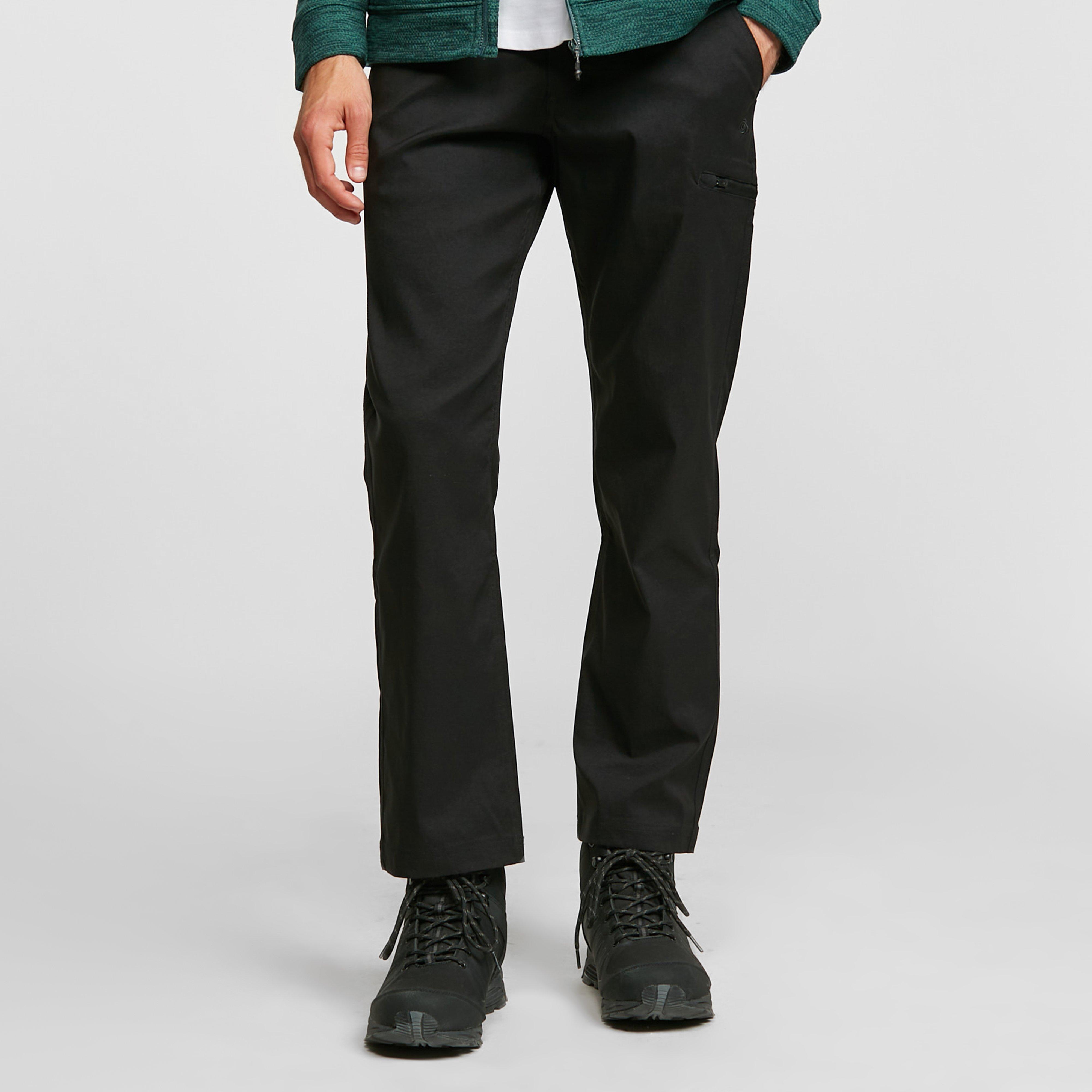 Craghoppers Craghoppers Mens Kiwi Pro Stretch Trousers (Short), Black