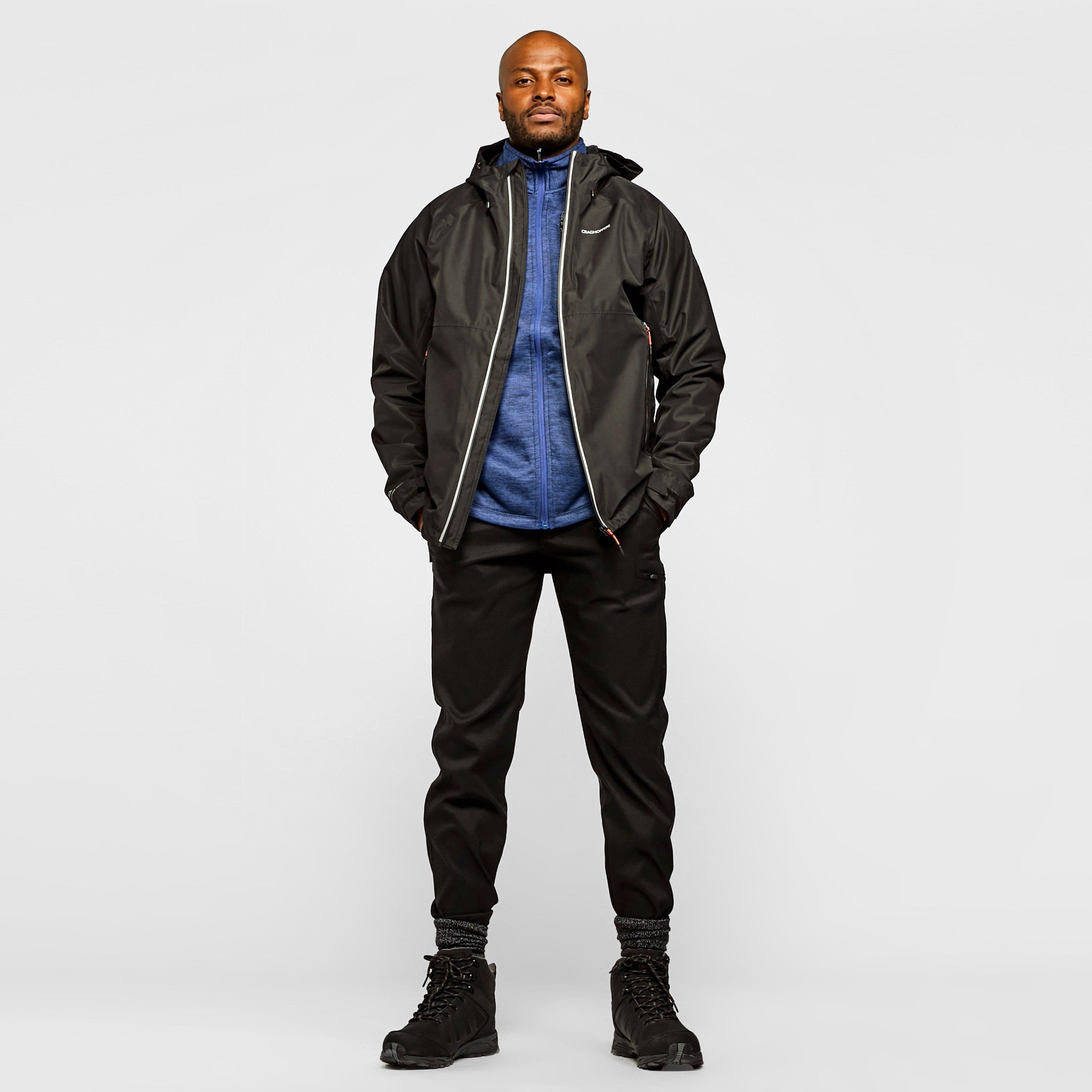 Craghoppers Men's Kiwi Pro Stretch Trousers (Long) - Black, Black