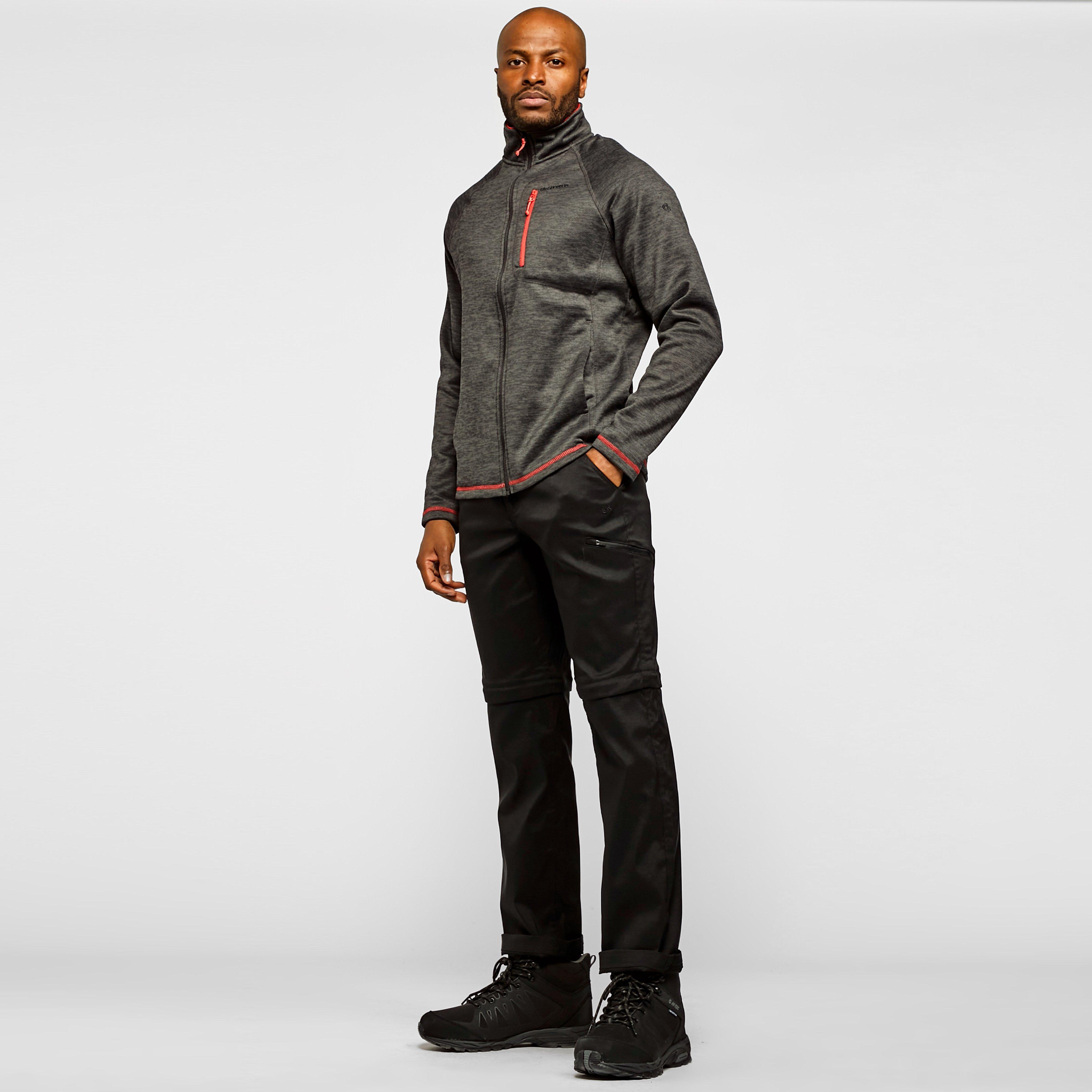 Craghoppers Men's Kiwi Pro Convertible Trousers - Black/Blk, Black