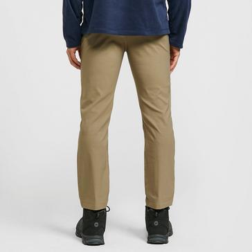 Beige Craghoppers Men's Kiwi Pro Stretch Trousers (regular)