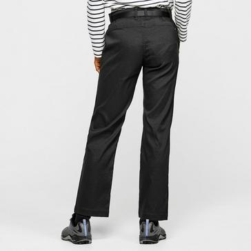 Black Craghoppers Women's Kiwi Pro Stretch Trousers (short)