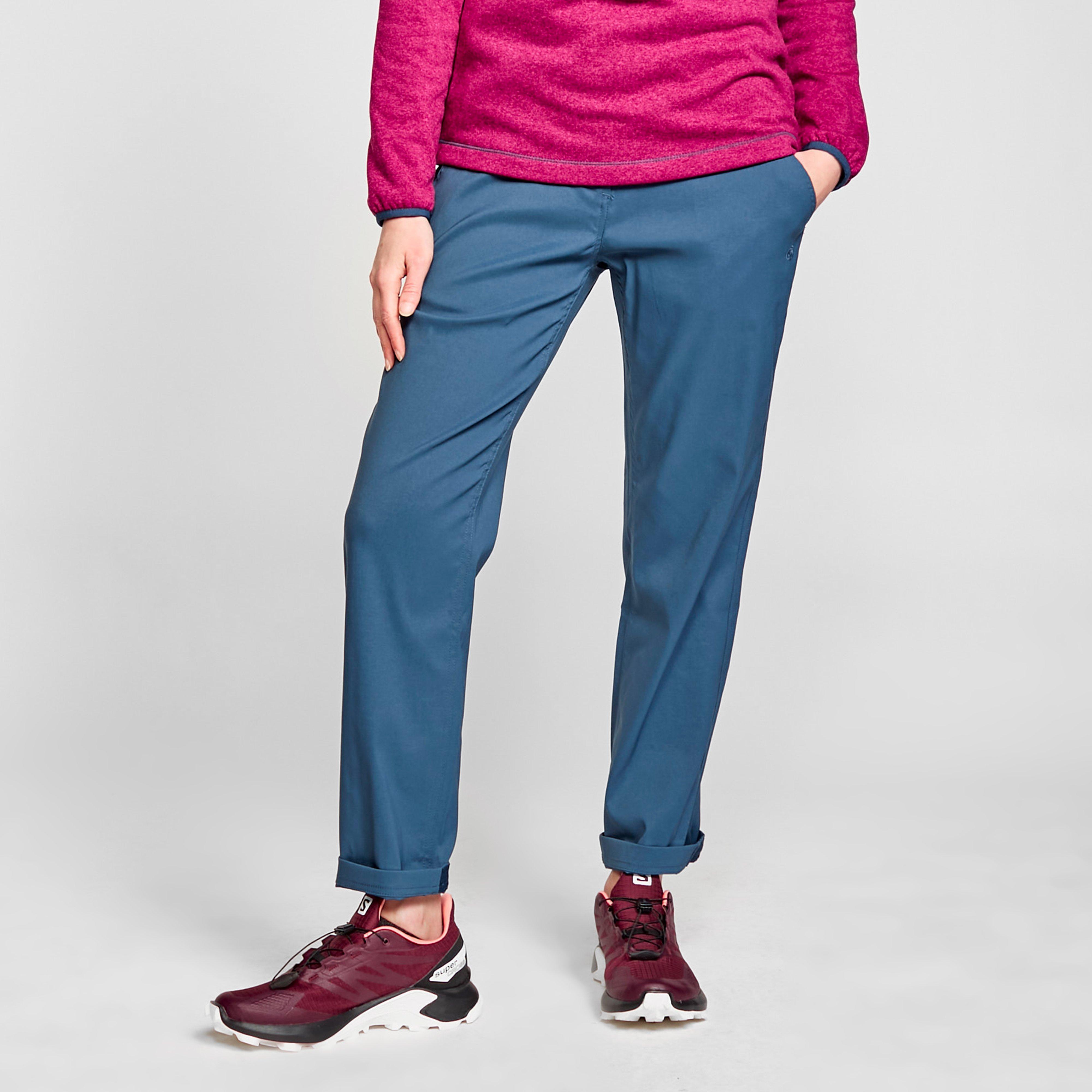 Craghoppers Women's Kiwi Pro Stretch Trousers (Short) - Blue, Blue