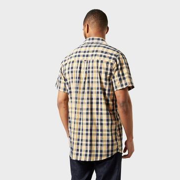 Beige Craghoppers Men's Jose Short Sleeve Shirt