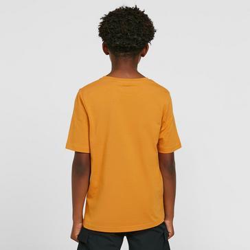 Gold Craghoppers Kids' Rubens Short Sleeved T-Shirt