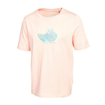 Pink Craghoppers Kids' Olga Short Sleeved T-Shirt