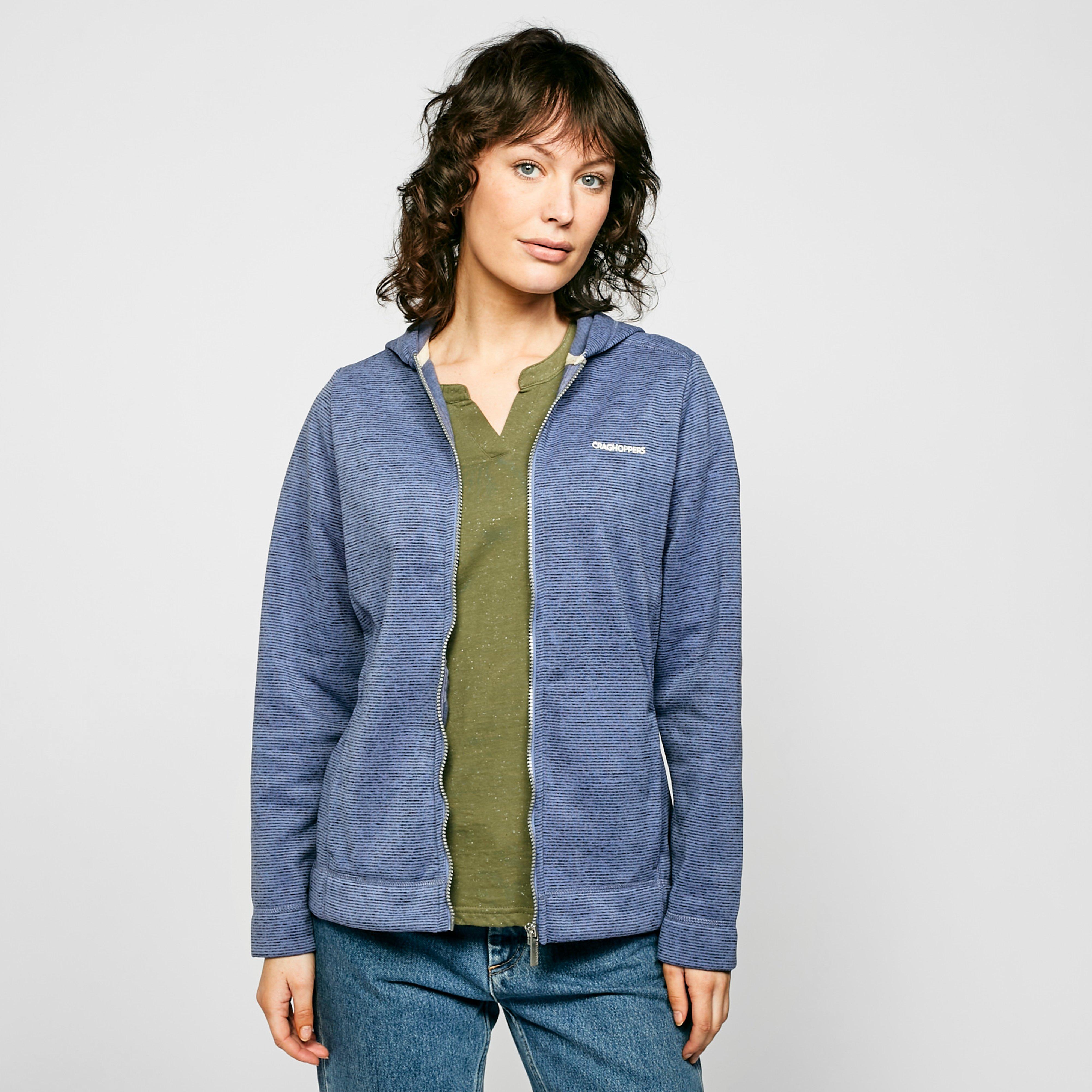 Craghoppers Craghoppers womens Croftly Full-Zip Hooded Fleece