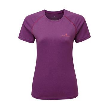 purple Ronhill Women's Everyday Short Sleeved T-Shirt