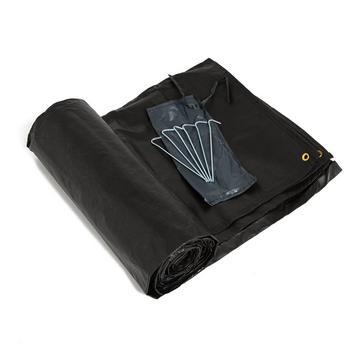 White HI-GEAR Horizon 400 Tent Footprint