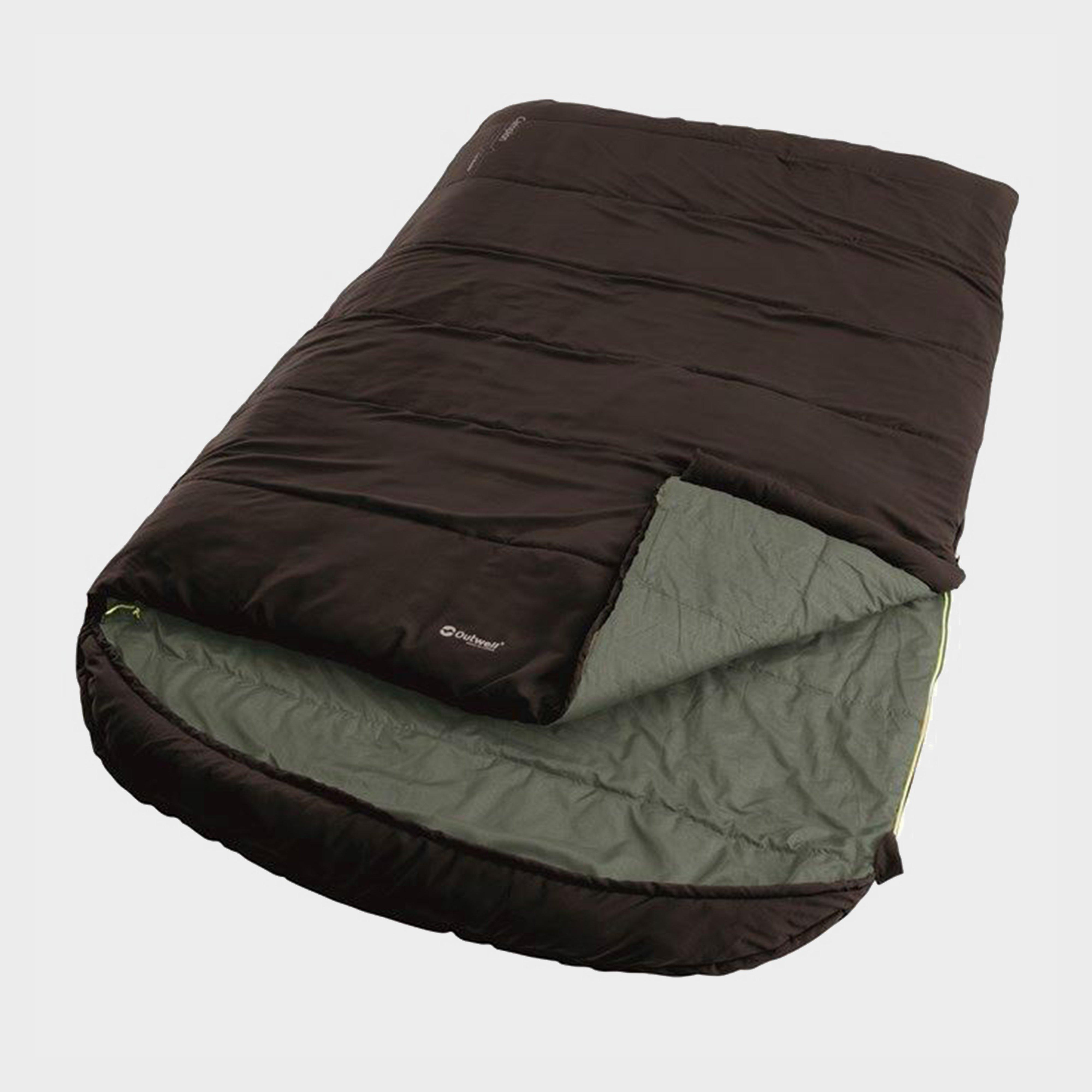 Outwell Outwell Campion Lux Double Sleeping Bag - Brown, Brown