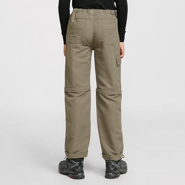 Brown Regatta Kids Sorcer Zip Off Trousers II
