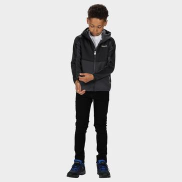 Grey Regatta Kids' Bracknell II Softshell Jacket