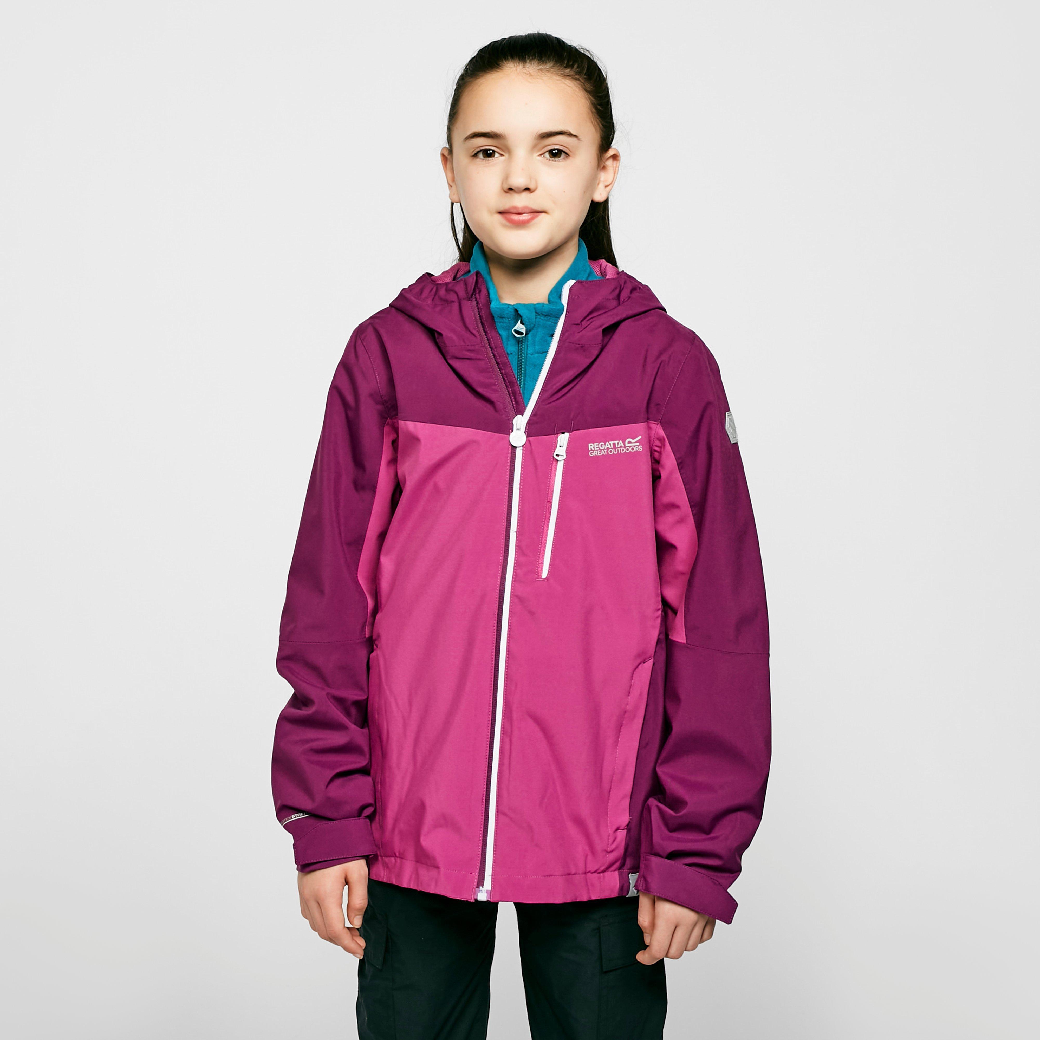Regatta Kids' Highton Jacket - Purple/Purple, Purple