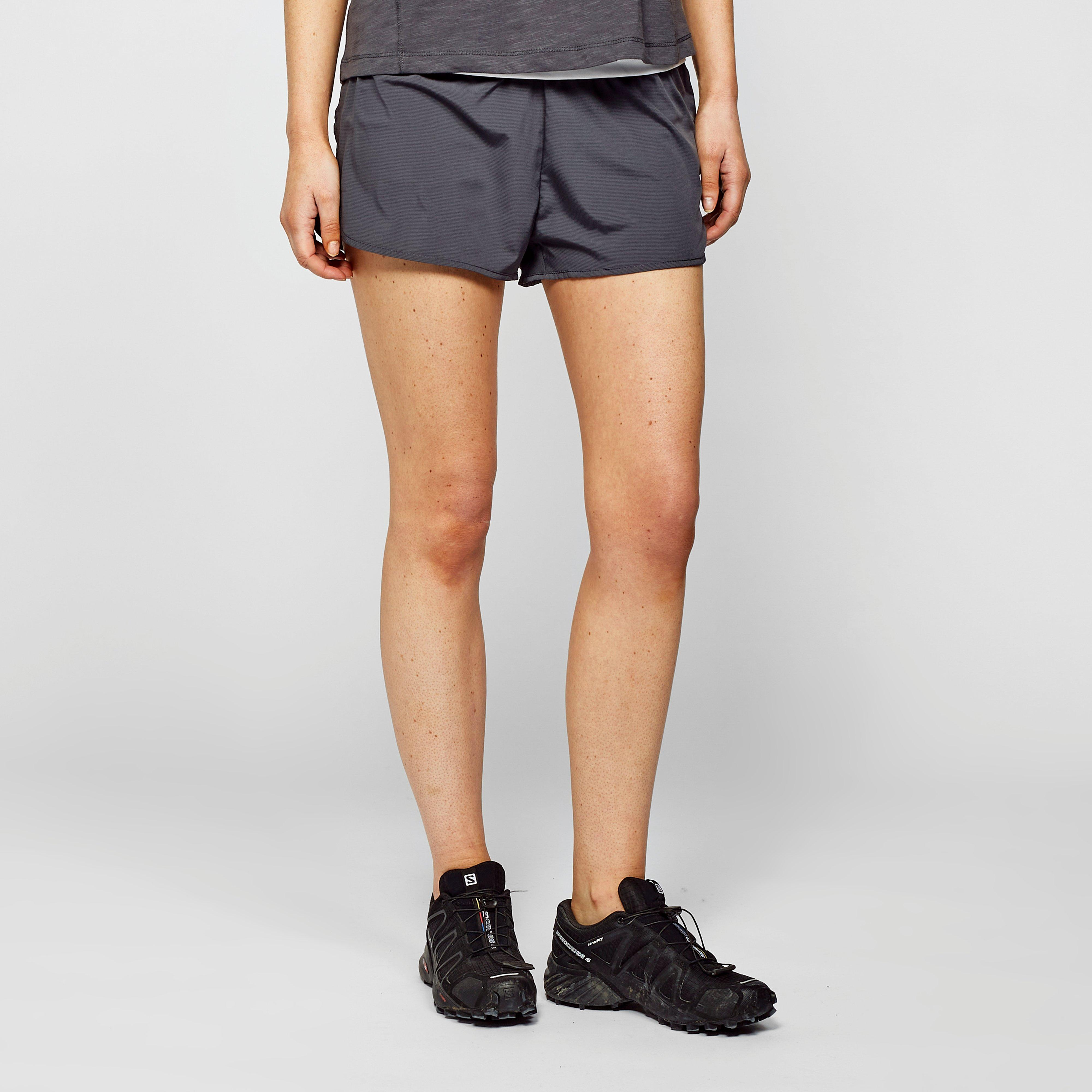 Dare 2B Women's Outrun Two-Layer Shorts - Grey/Dgy, Grey