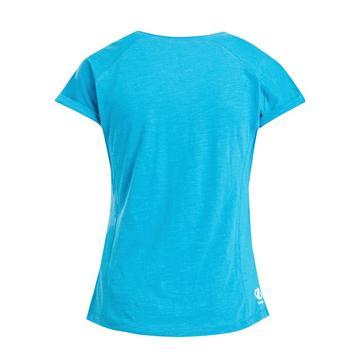 Blue Dare 2B Women's Considered 3-in-1 T-Shirt