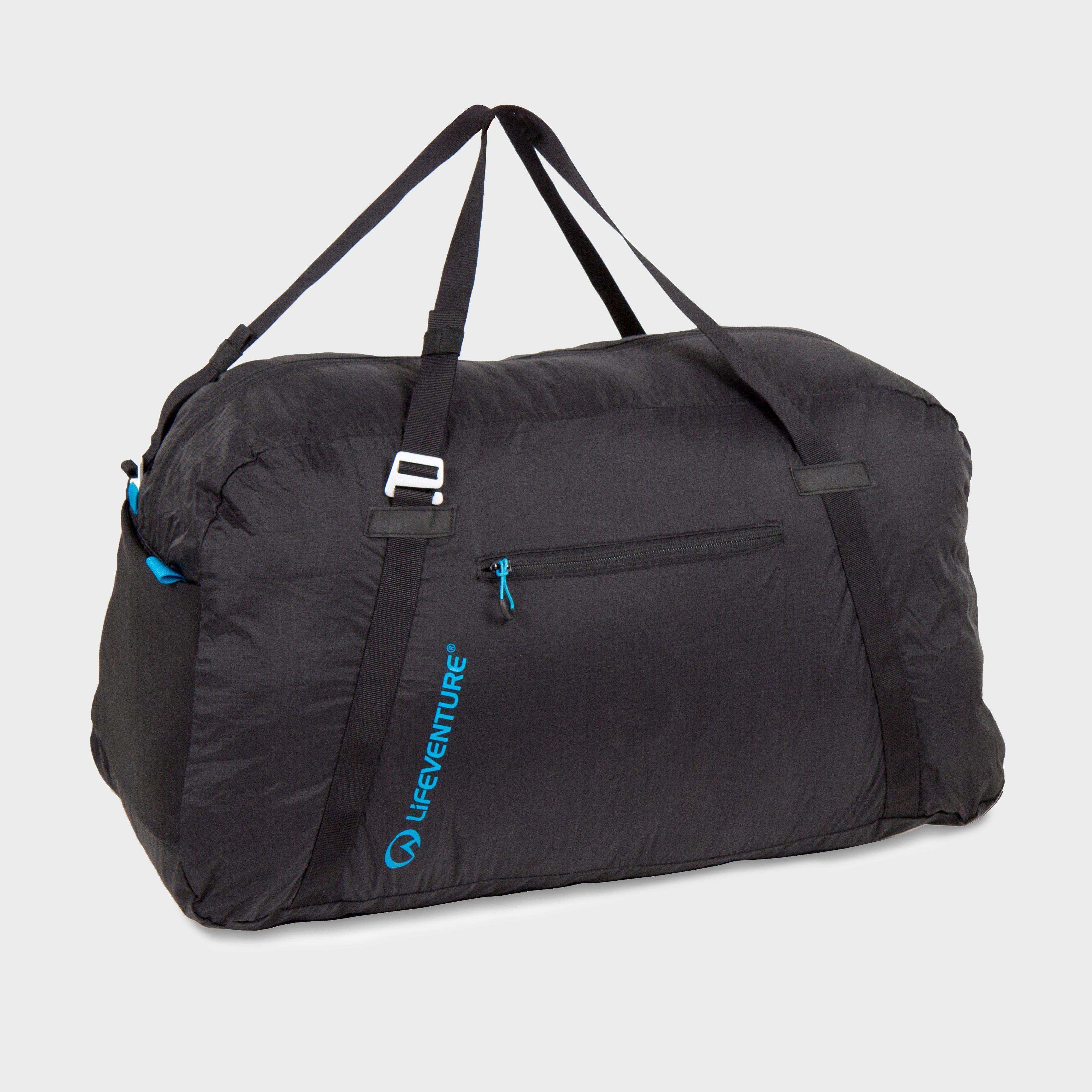 Lifeventure Lifeventure Packable Duffle Bag 70L - Black, Black