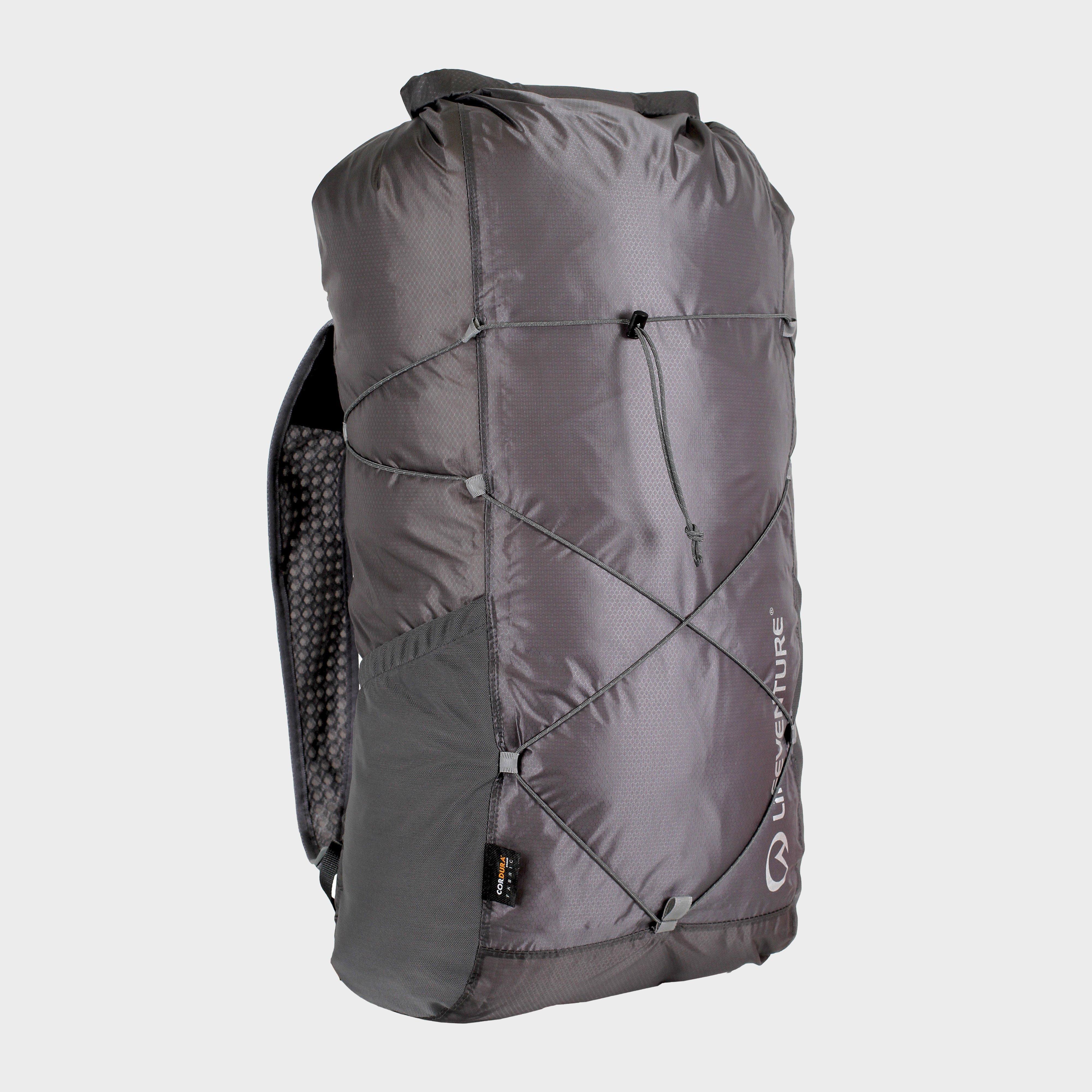 Lifeventure Lifeventure Waterproof Packable Backpack 22L - Grey, Grey