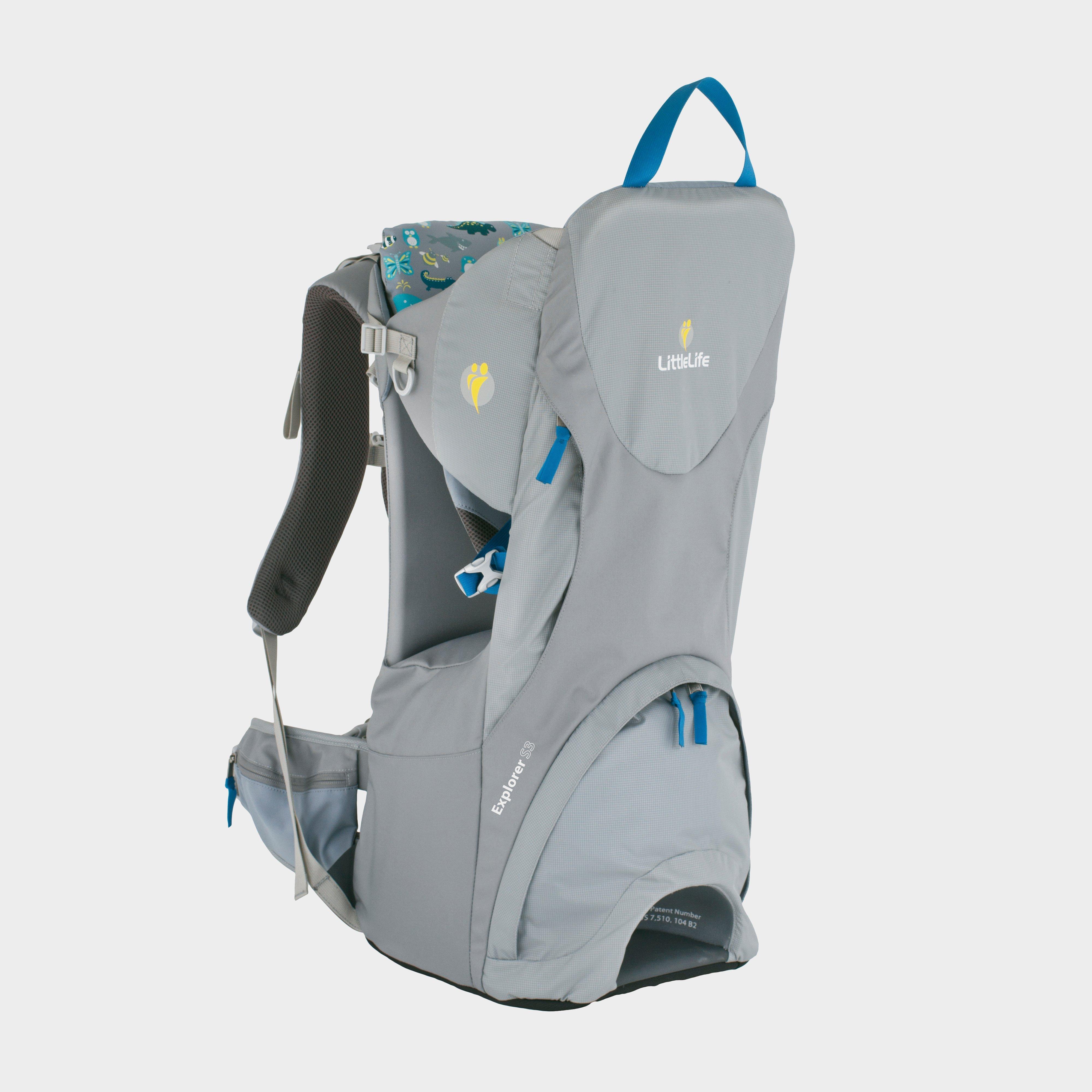 Littlelife Littlelife Explorer S3 Child Carrier - Grey, Grey
