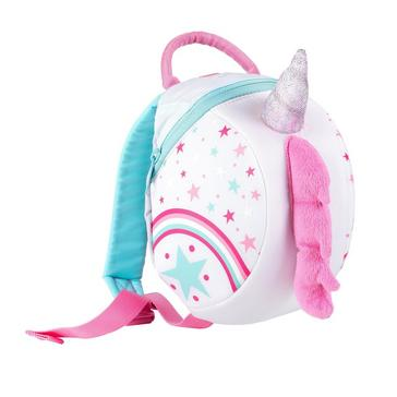 White LITTLELIFE Unicorn Toddler Pack with Rein