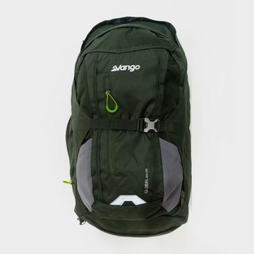 Green VANGO Global 60L + 20L Travel Backpack