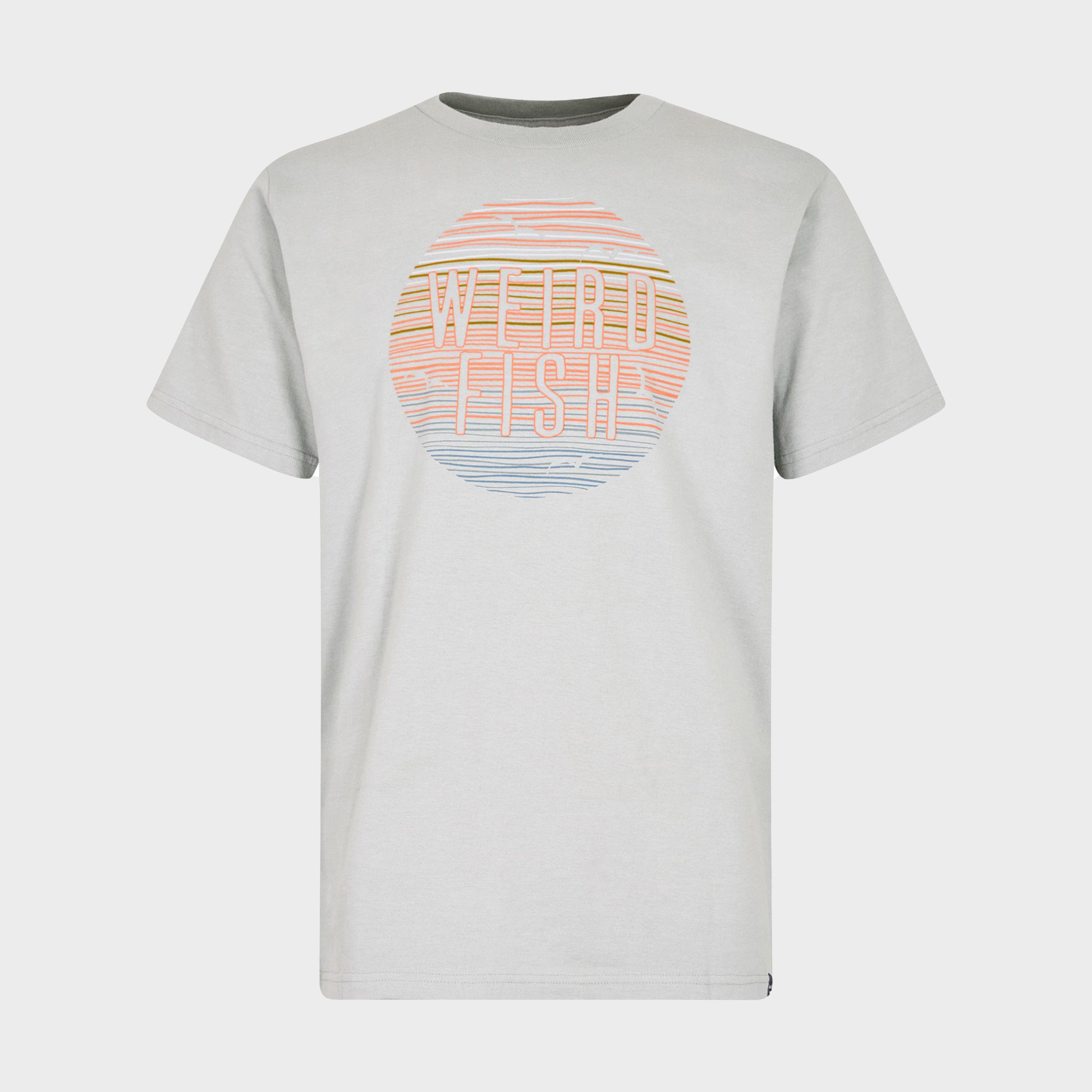 Weird Fish Weird Fish Mens Sunset T-Shirt
