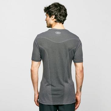 Grey Under Armour Men's UA Vanish Seamless Short Sleeve Tee