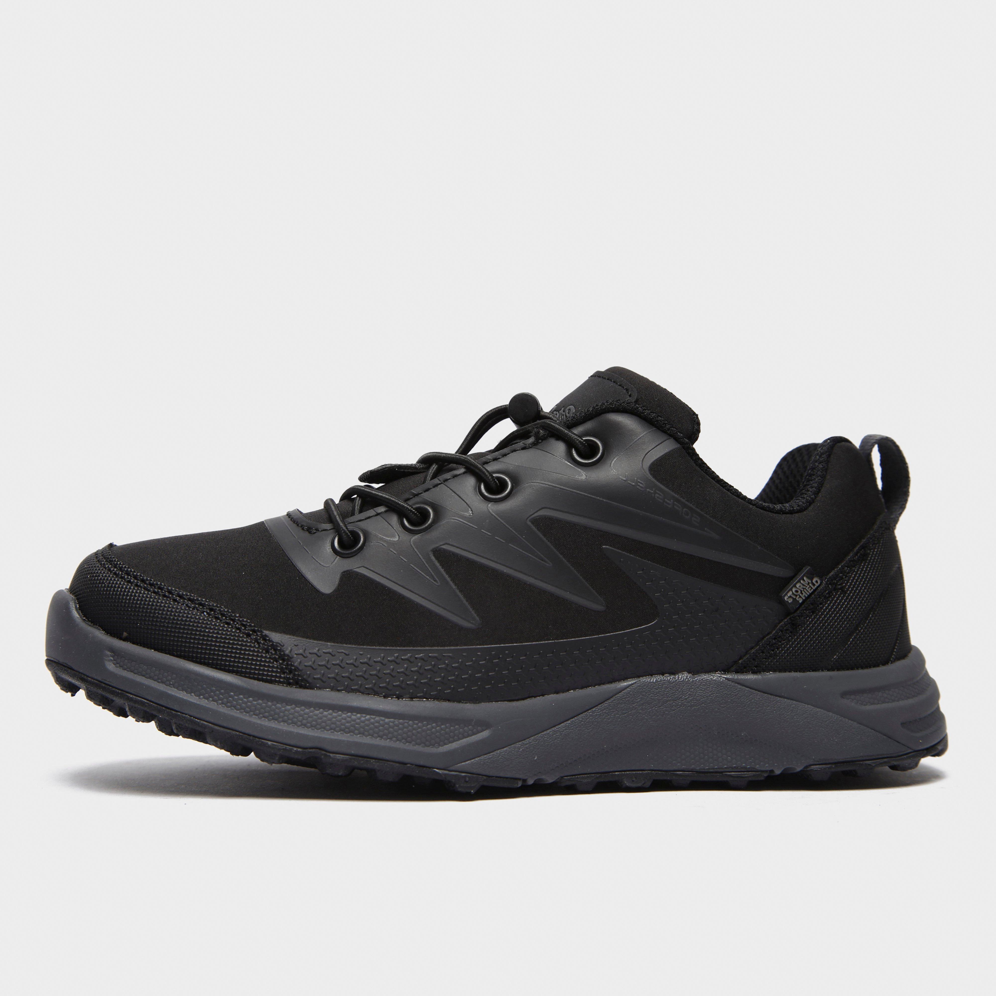 Peter Storm Kid's Bentley Waterproof Shoe - Black, Black