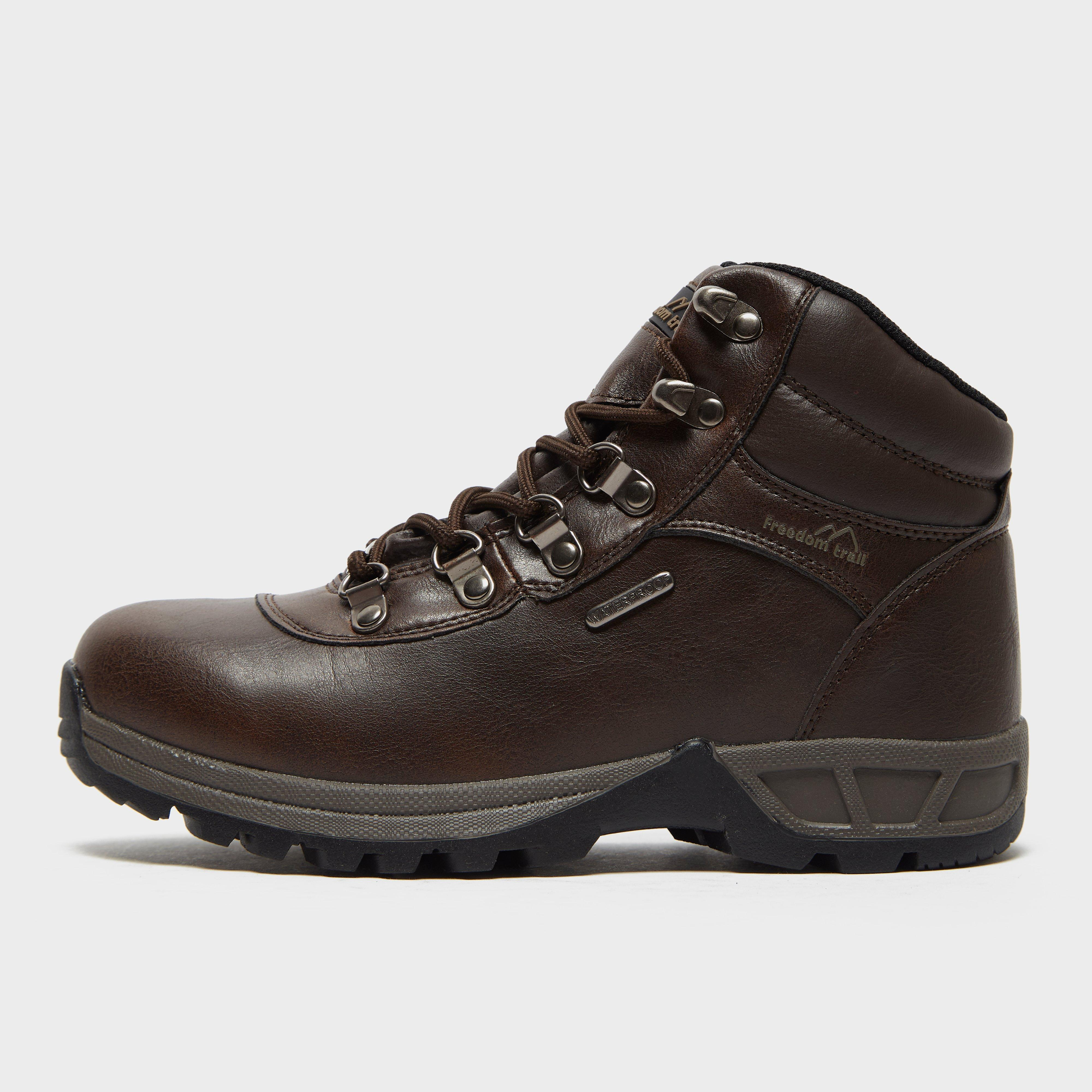 Freedomtrail Kids' Rivelin Walking Boots - Brown, Brown