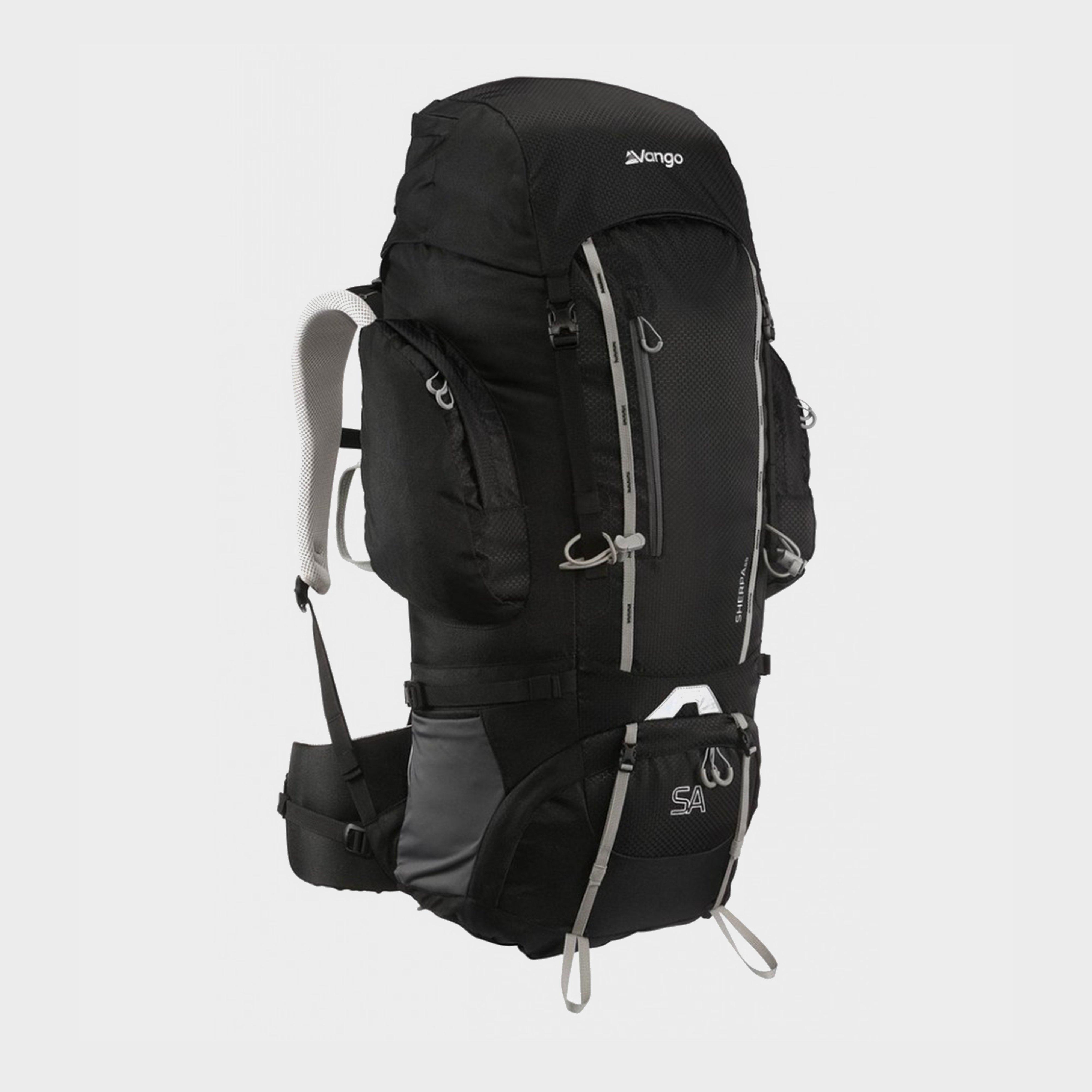 Vango Vango Sherpa 65L Backpack, Black