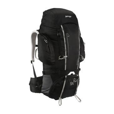 BLACK VANGO Sherpa 65L Backpack