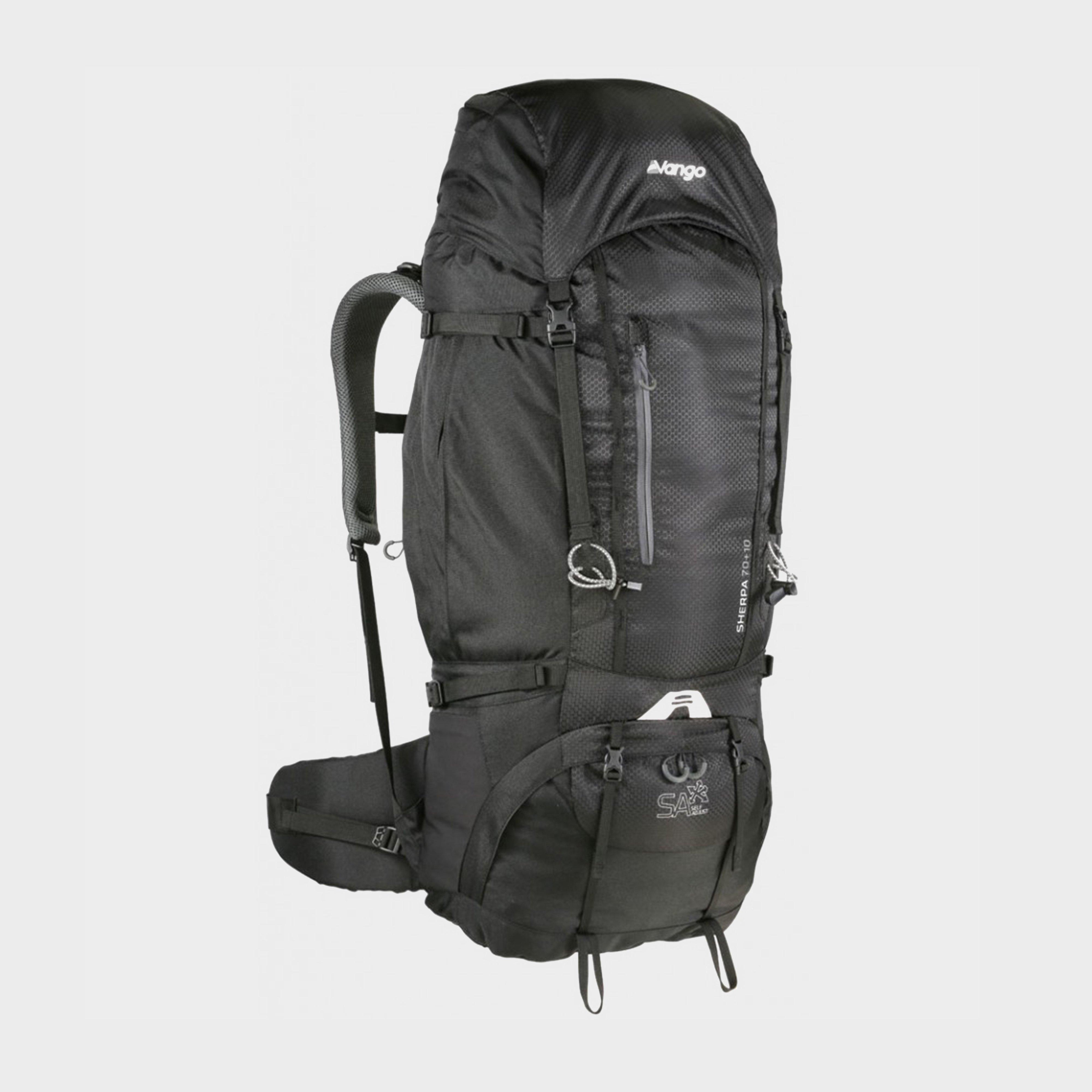 Vango Vango Sherpa 70:80 Backpack, Black