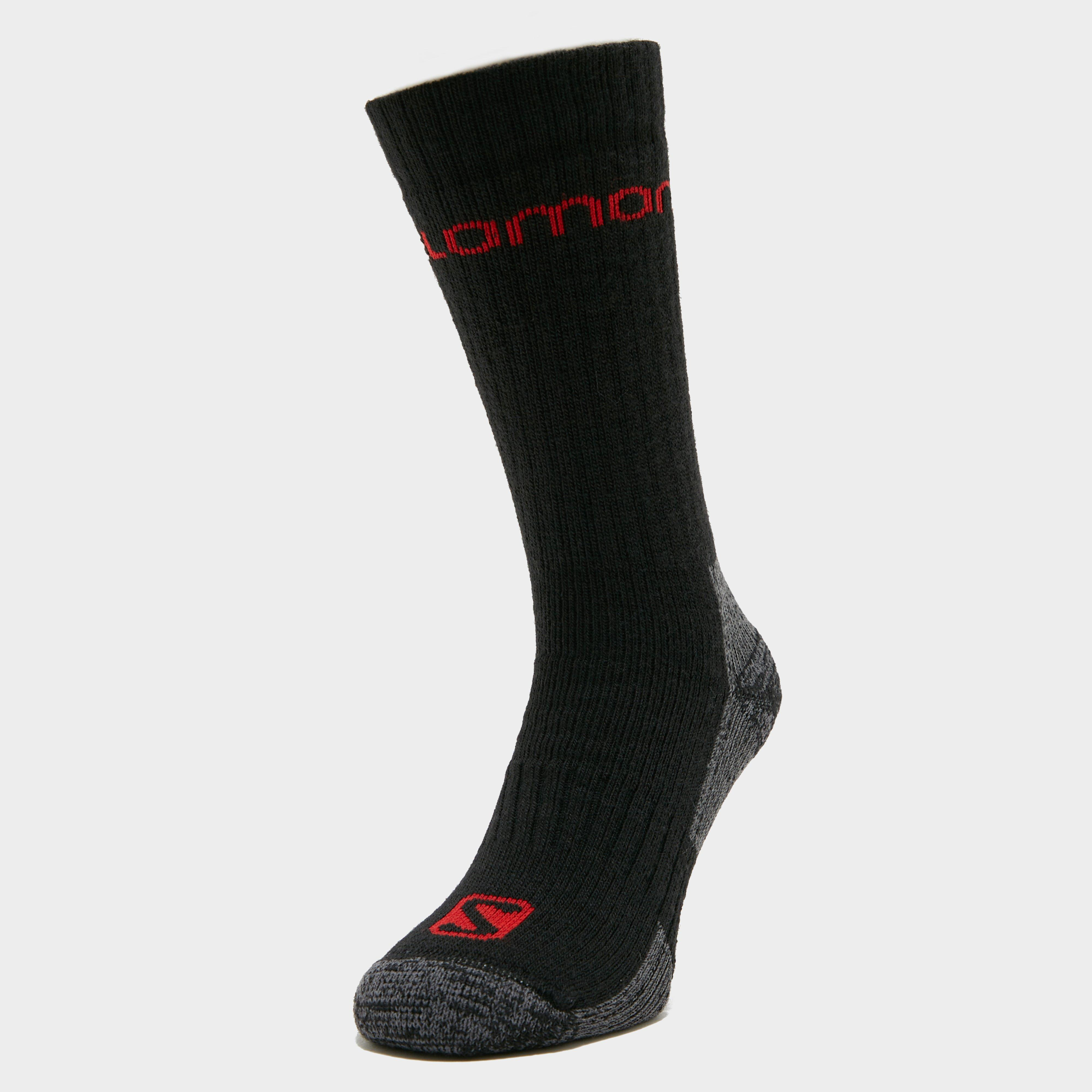 Salomon Socks Salomon Socks Mens Merino Socks 2 Pack - Black, Black