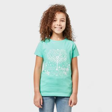 Peter Storm Kids' Trees & Flowers T-Shirt
