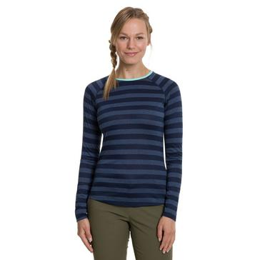 Berghaus Women's Striped Long Sleeve 2.0 T-Shirt