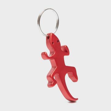 RED Eurohike Lizard Keyring Bottle Opener