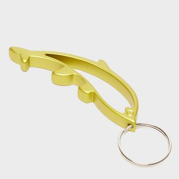 yellow Eurohike Dolphin Keyring Bottle Opener
