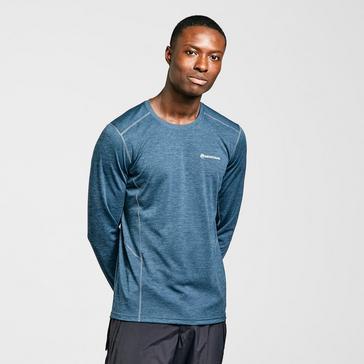 blue Montane Men's Dart Long Sleeve T-Shirt