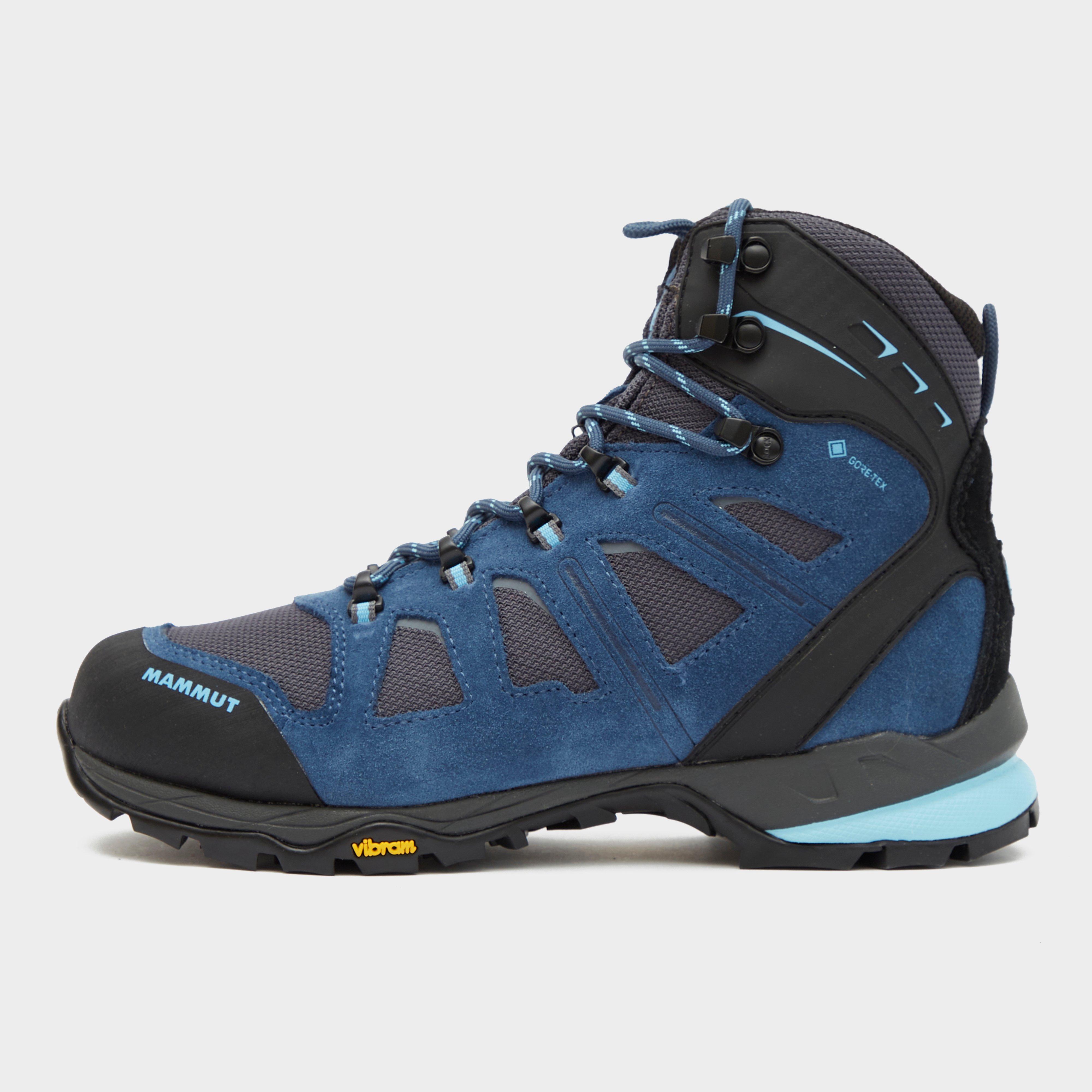 Mammut Women's T Aenergy High Gore-Tex, Walking Boots - Blue/Dbl, Blue/Dark Blue