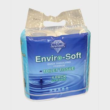 BLUE DIAMOND Enviro-Soft Toilet Roll (4-pack)