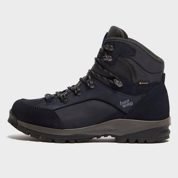 Navy Hanwag Women's Banks Lady GORE-TEX® Hiking Boot
