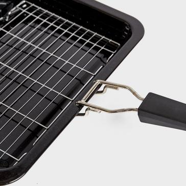 Quest Enamel Folding Handle Non-Stick Grill Pan