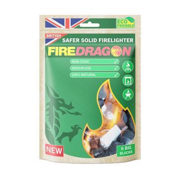 Multi Fire Dragon Solid Fuel Blocks (6 Pack)