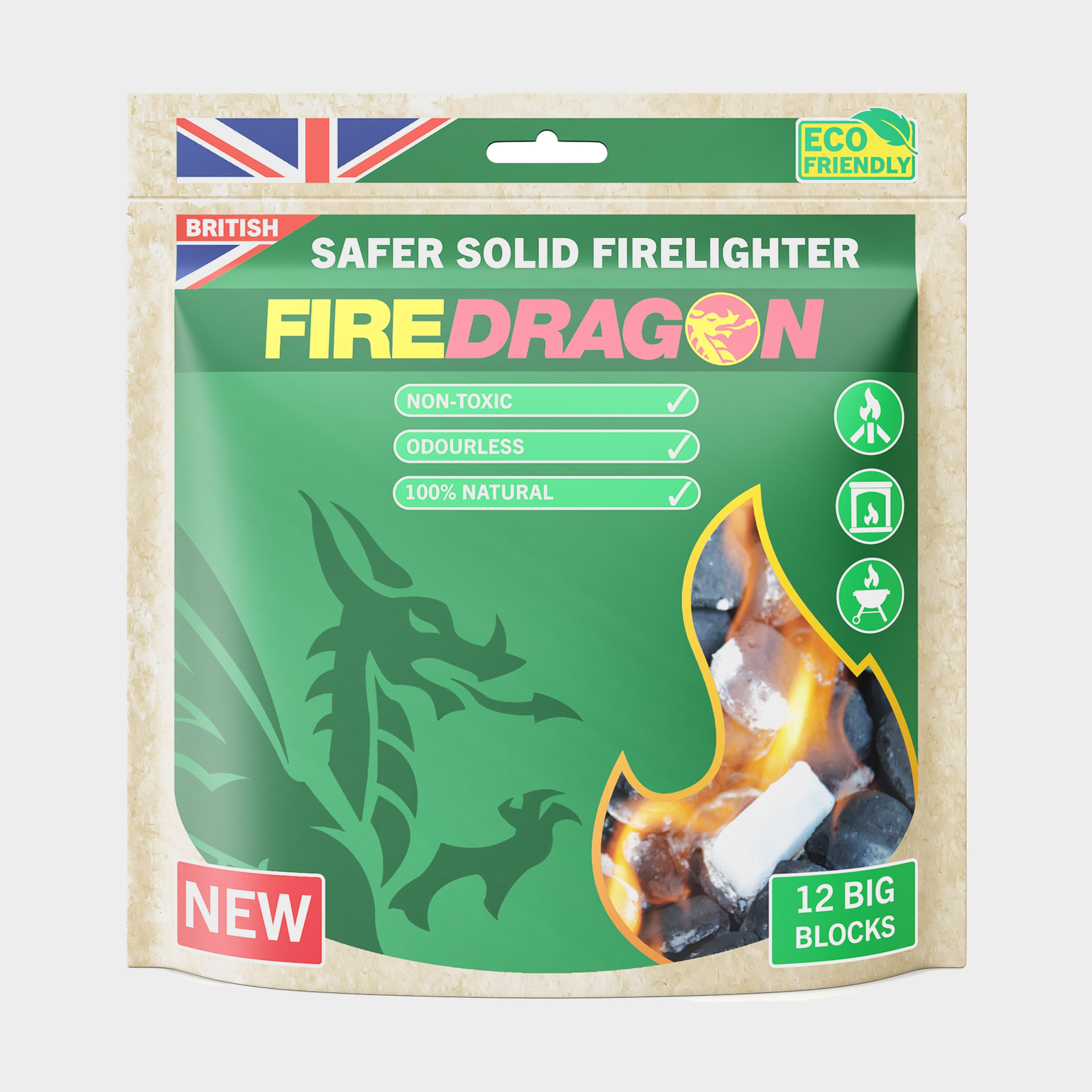 Fire Dragon Fire Dragon Solid Fuel Blocks (Pack of 12) - Green, Green