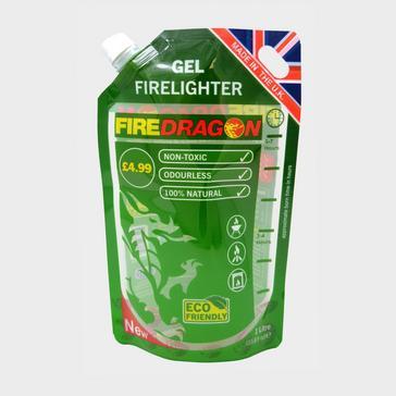 GREEN Fire Dragon Gel Fuel (1 Litre)