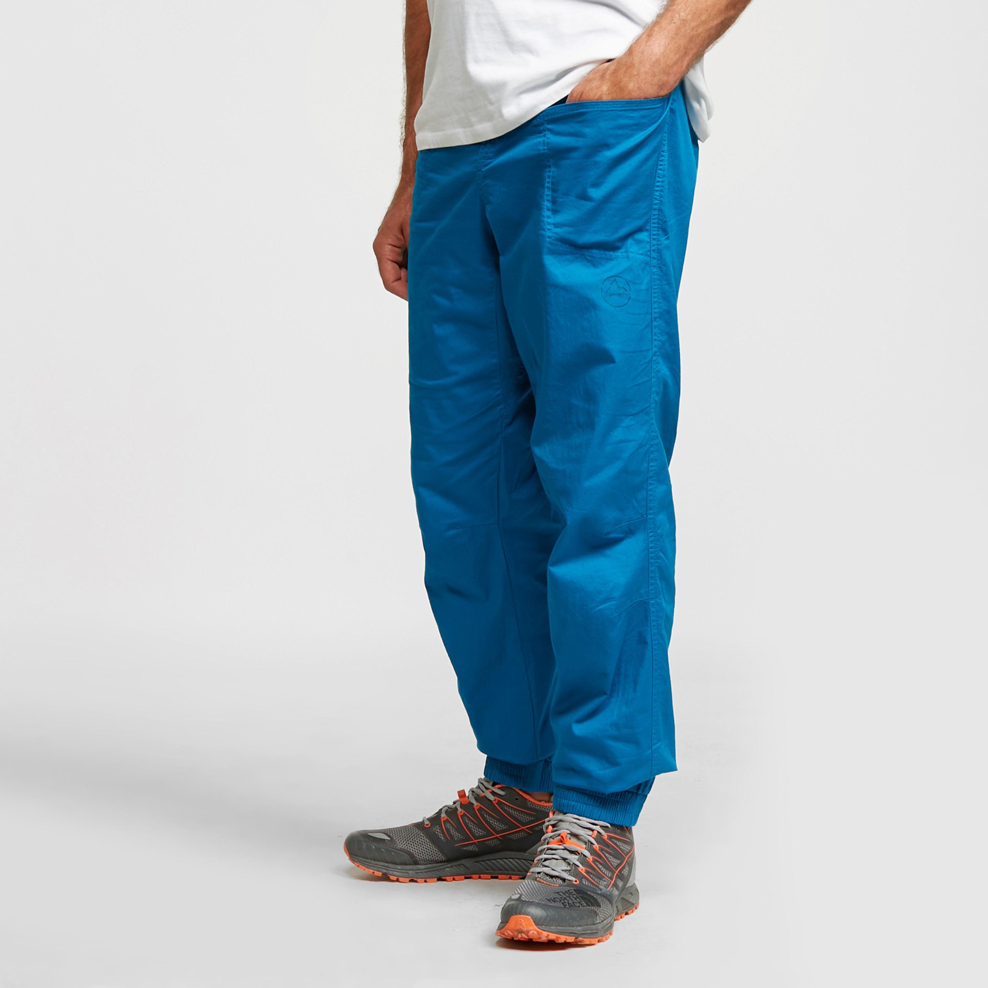 La Sportiva Men's Sandstone Pants - Blue/Bbl, Blue