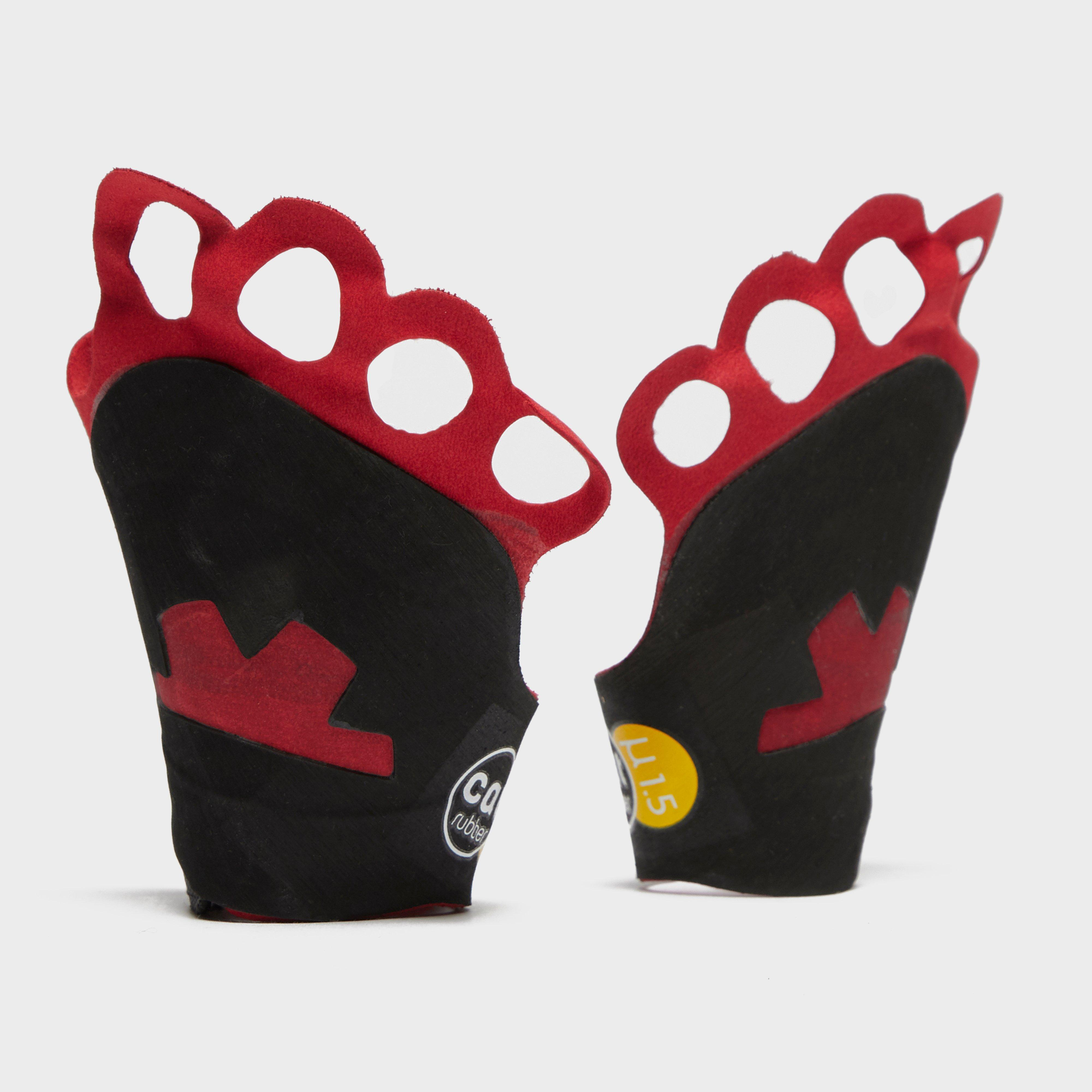 Ocun Crack Gloves - Red/Red, Red