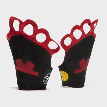 Red Ocun Crack Gloves